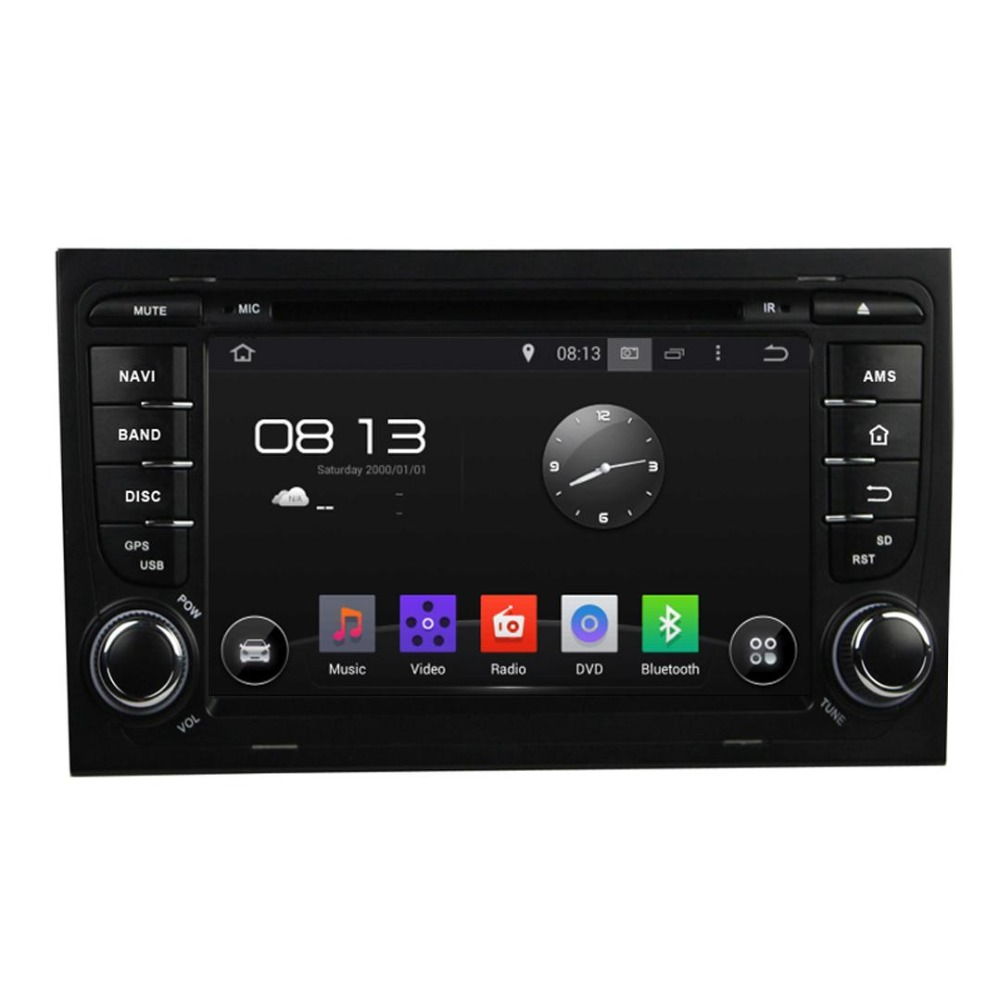 Android 4.4 1024*600 Quad Core Car DVD Player for A4 with Video Music Player,Radio Turner,SWC ,Bluetooth Handsfree(China (Mainland))