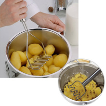Kitchen Gadgets Potato Mud Pressure Mud Machine Potatoes Masher Pressure Mashed Potatoes Device Fruit Vegetable Tool Accessories(China (Mainland))