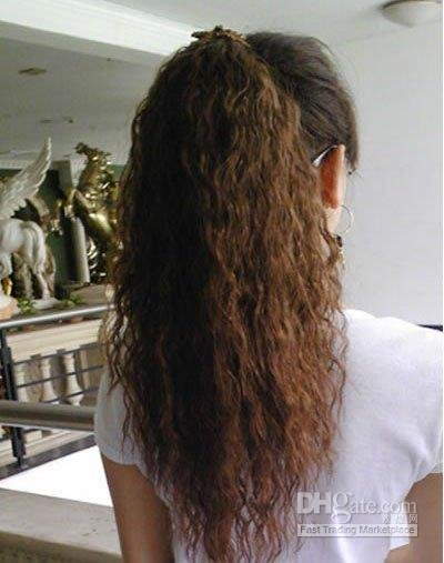 Wholesale Fashion Fireworks Style Bundle State Ponytail Loose Curls Wig Extension Sy088 In Hair