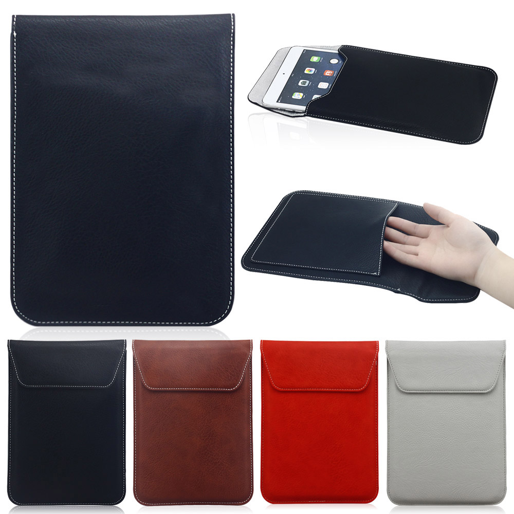 High Quality Ultra thin 10 inch Laptop Sleeve Bag Leather Case For iPad 2 3 4 For SamSung Tablet Notebook Laptop Case Pouch(China (Mainland))