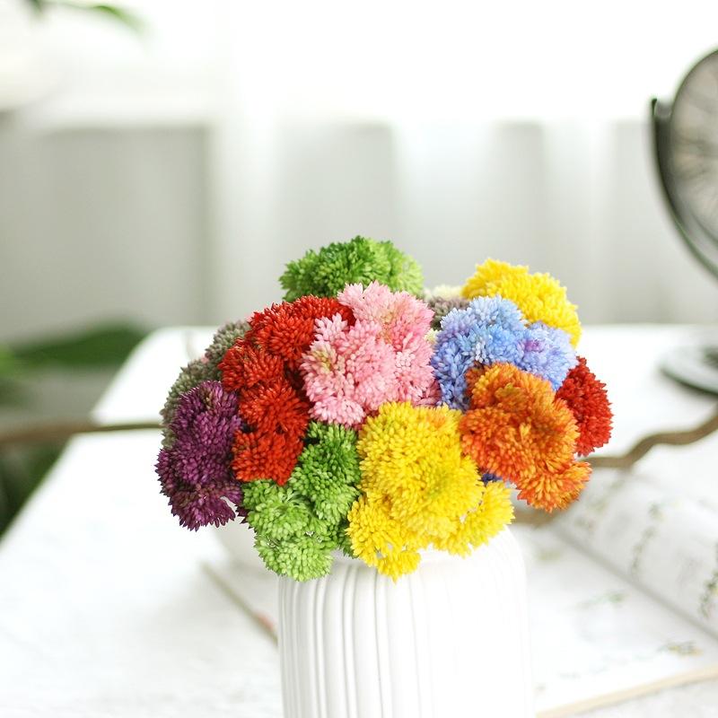 Colorful Plastic Rice seed Rustic Artificial fruit Fake aglaia mini fruit Wedding Decorative Flowers bonsai Home Decor(China (Mainland))