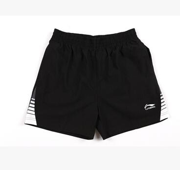 Li ning бадминтон шорты мужские короткие свободного покроя летние спортивные шорты дышащий полиэстер m-4xl