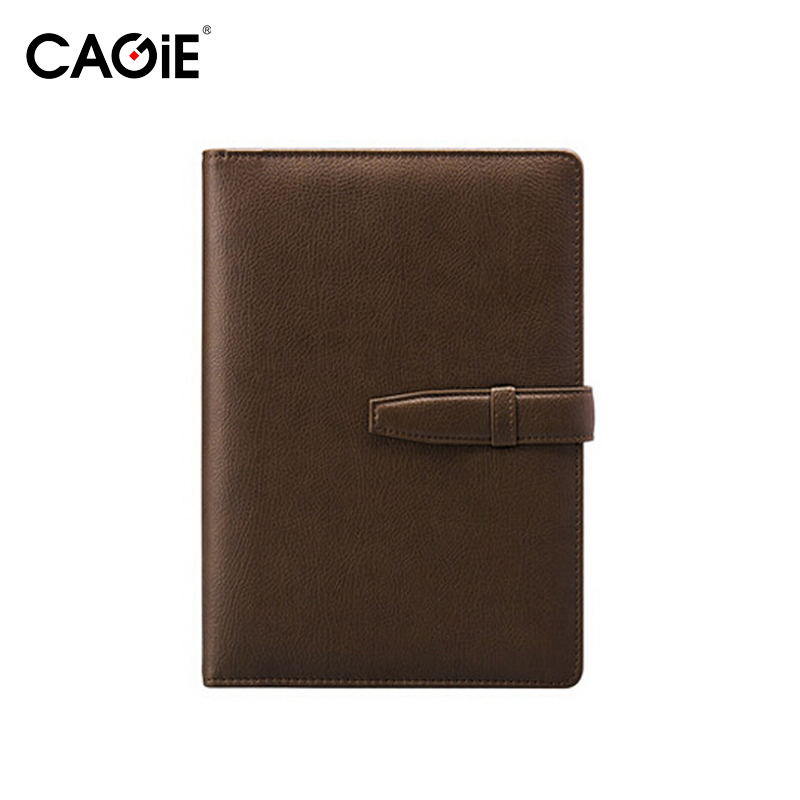 Cagie Vintage Thrust Button Spiral Notepad Multifunction Business Offfice Stationery Diary Notebooks CA5H4325<br><br>Aliexpress