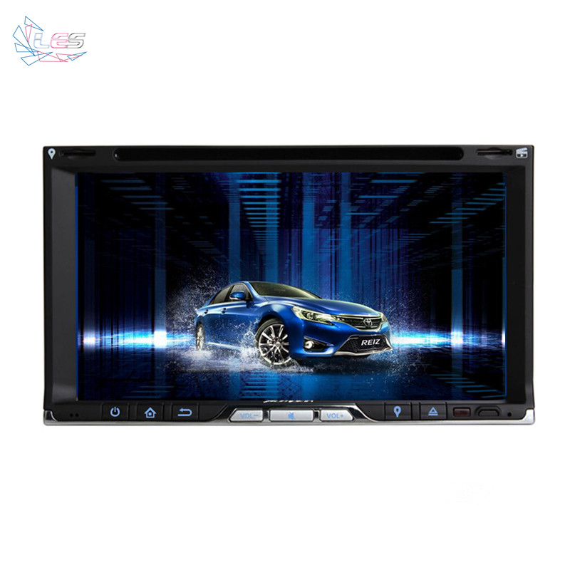 Car DVD GPS Navigation Auto Video Car PC Two Din Car Universal With Bluetooth For Ford Model Vwolkswage Car Tracking(China (Mainland))