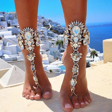 Buy 2016 One Pcs Long Beach Summer Vacation Ankle Bracelet Sandal Sexy Leg Chain Female Boho Crystal Anklet Statement Jewelry 3226 for $6.21 in AliExpress store