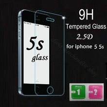 Arc0.26mm 2.5D For iphone 5 Tempered Glass For iphone 5 Screen Protector Protective Film For iphone 6 6S 5C 5S Pelicula De Vidro