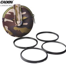 Buy CADeN Filter Bags Insert Pouch Neoprene Bags Camouflage Convenient Case Canon Nikon Lens Pouch 2017 New Design H10 for $7.80 in AliExpress store