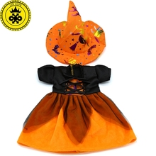 American Girl Doll Clothes Halloween Witch Dress Cosplay Costume Doll Clothes for 16-18 inch Dolls Madame Alexander Doll MG-256(China (Mainland))