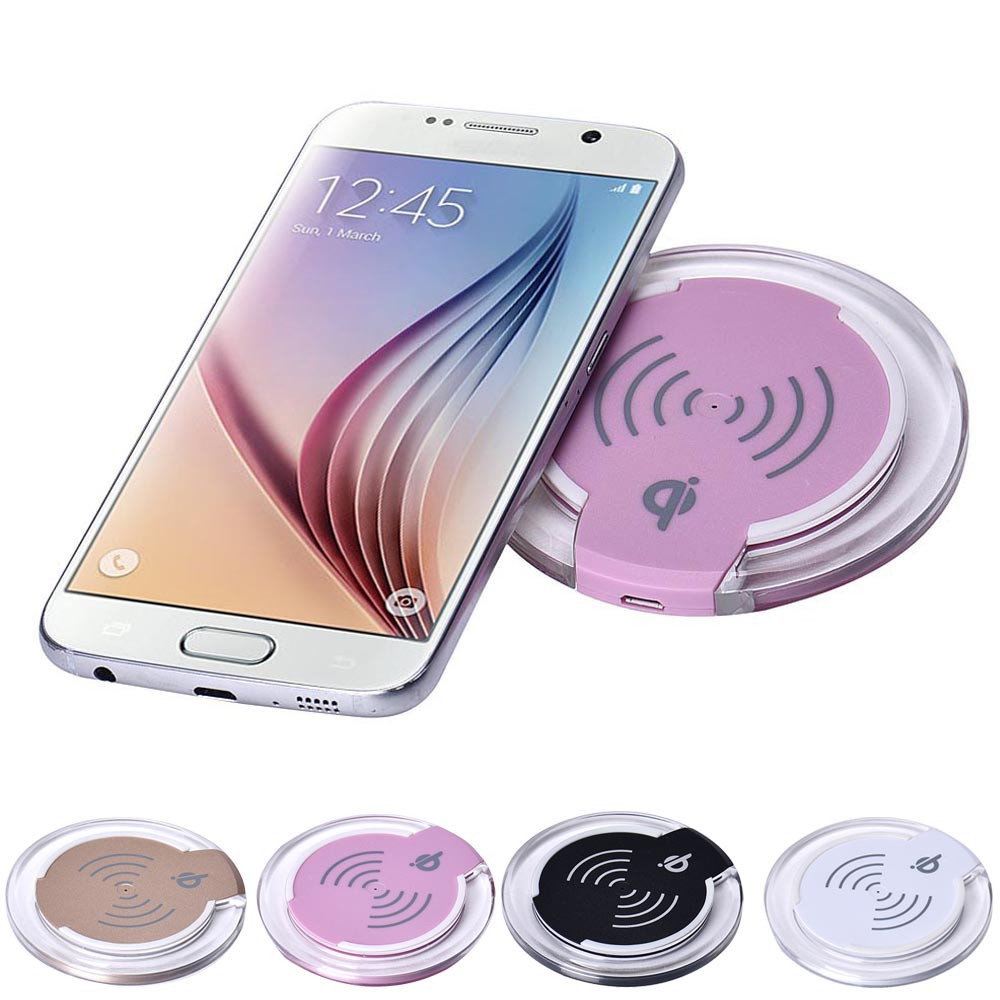 Qi Wireless Charger Round 10W 5V Charging Pad Samsung Galaxy S6/S6 Edge Plus LG G4 Mobile Phone Accessories - Hillsionly Store store