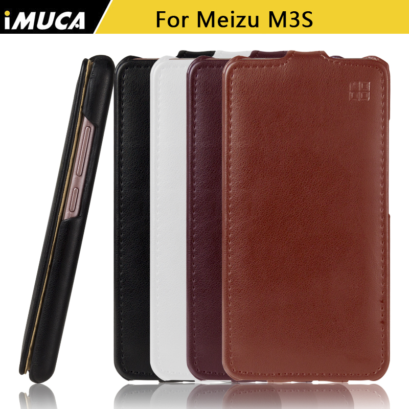 Flip Phone Case For Meizu M3S Cover Case M3S Mini M3 Mini Luxury Leather Case with retail package IMUCA brand Cases Shell(China (Mainland))