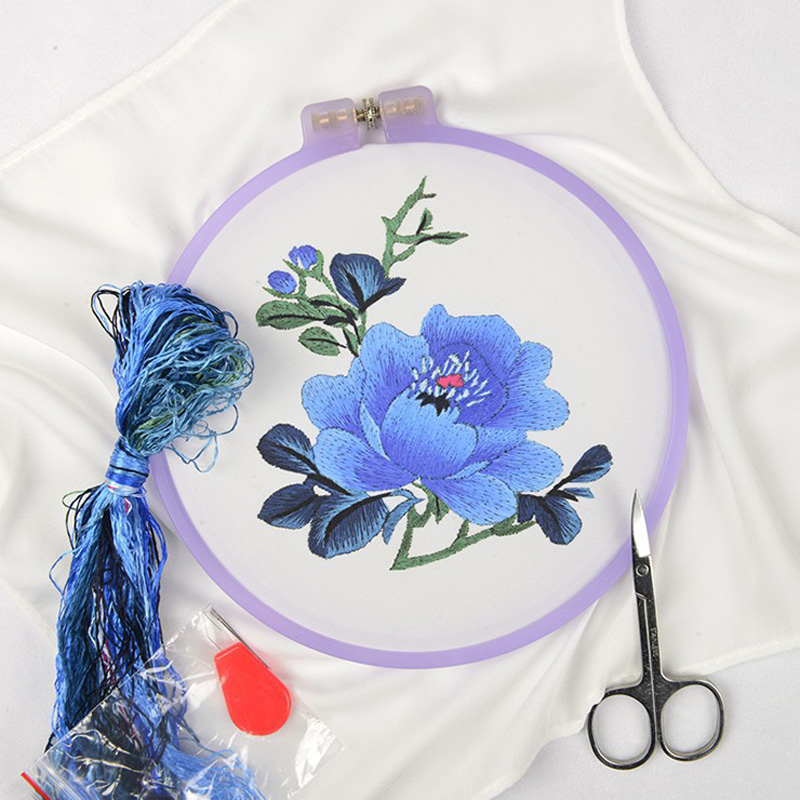 Silk thread embroidery kit suzhou classical