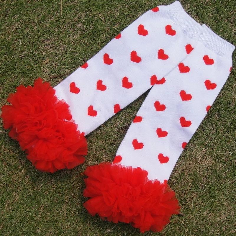 Leopard Baby Leg Warmers,Knitting Baby Knee Pads,Joelheira Infanil,Fashion Baby Lace Leggings,Ruffle Heart Legwarmers,#A0019(China (Mainland))