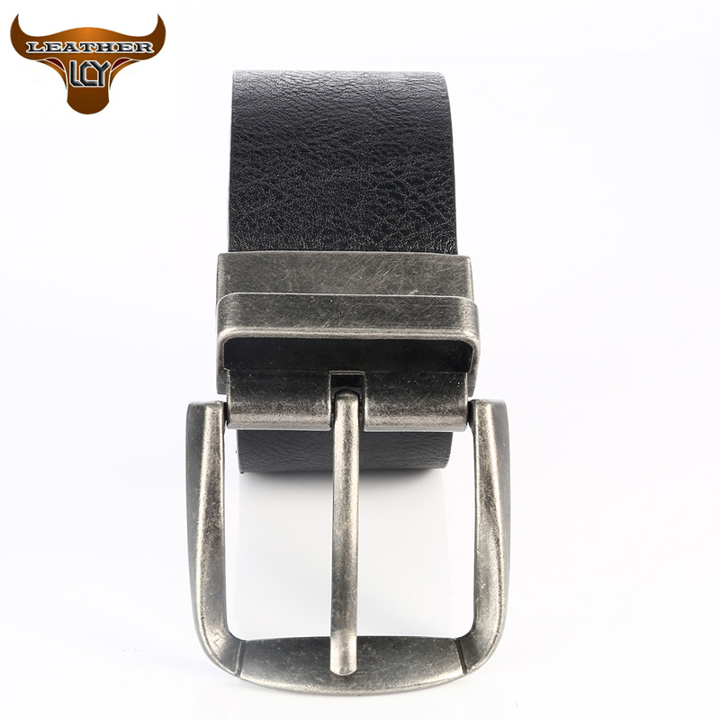 [LCY] New Style Designer Belts Men Luxury Real Leather Belts for Men Metal Reversible Pin Buckle ceinture homme Luxury 400051(China (Mainland))