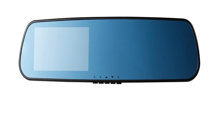 "4.3"" TFT HD Car DVR LED Night Vision Rear View Rearview Mirror 720P Black Box Vehicle Video Recorder Camera Carcam Free Shipping(China (Mainland))"