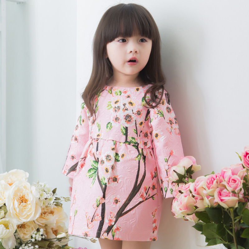 Baby Girl Clothes Hot Sale Direct Selling Dobby Kid 2015 Autumn Clothes Girl Children Wear And Children's Wholesale Princess(China (Mainland))