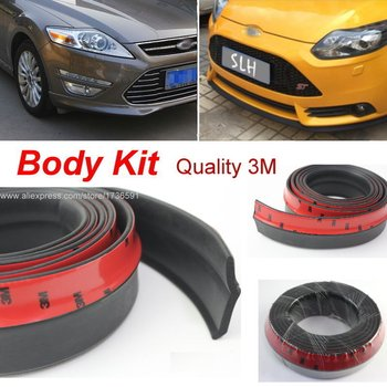 For Ford For Mondeo / Contour / Car Bumper Lip Deflector Lips / Body Kit / Strip / Front Spoiler Skirt / Car Tuning View