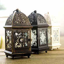 Continental Iron Retro Home Glass Candle Golders Creative Lantern Candle Light Dinner Living Dining Room Bedroom Den Ornaments.(China (Mainland))