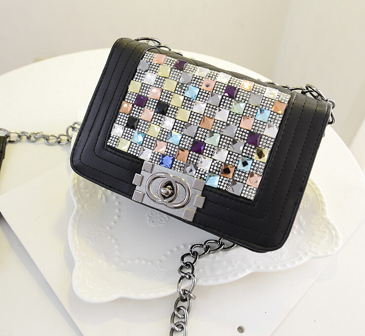 2014 new han edition tide female bag women cute shoulder bag(154)(China (Mainland))