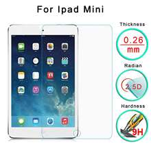 For iPad mini 1st Tempered Glass Screen Protector Cover Film Guard Ultra Thin Transparent Clear Brand New Protection 4hQE(China (Mainland))