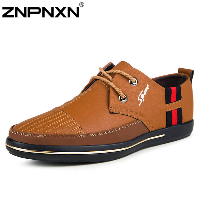 2015 Genuine leather fashion sneakers men Oxford shoes for men loafers Famous casual shoes man flats masculina dress shoes men(China (Mainland))
