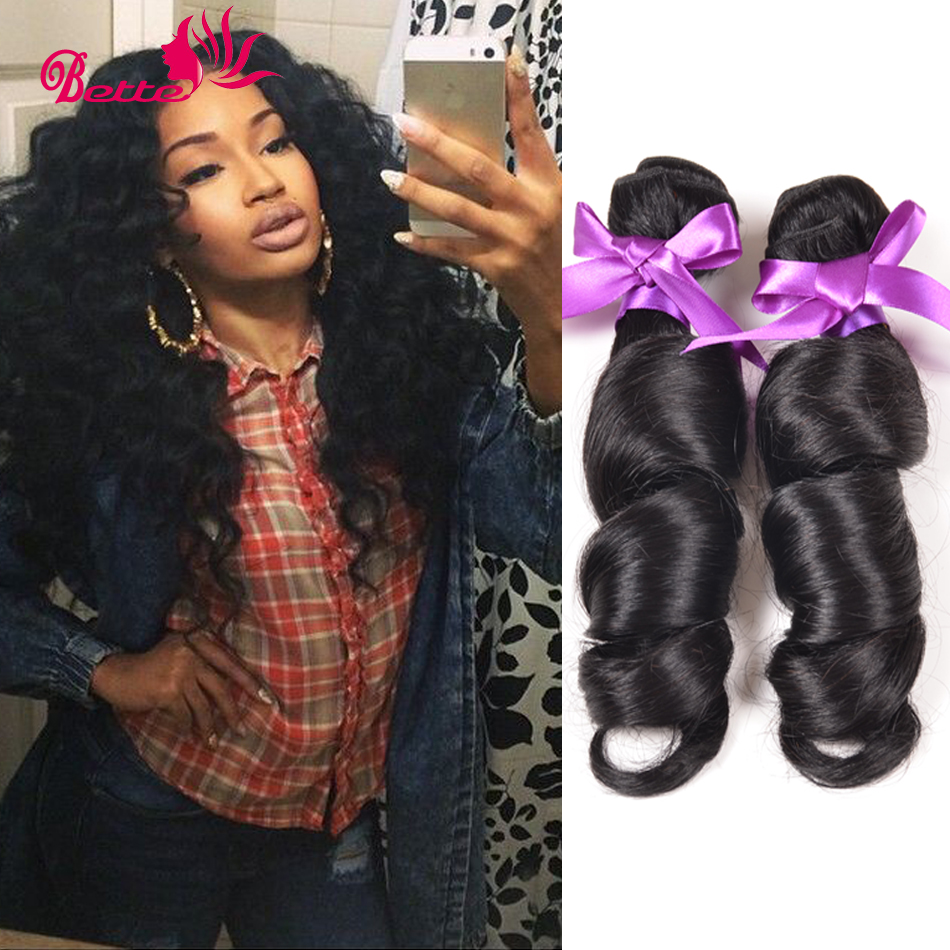 Guarantee Quality 6A unprocessed  Malaysian Loose Wave Human Hair Extensions Malaysian Virgin Hair 4 Bundles Remy Loose Wave