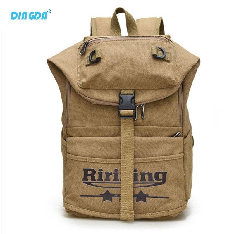 New Vintage Backpack Fashion Women Shoulder Bag Canvas Backpack Multi-Color Leisure Travel School Bags Unisex Backpacks A57