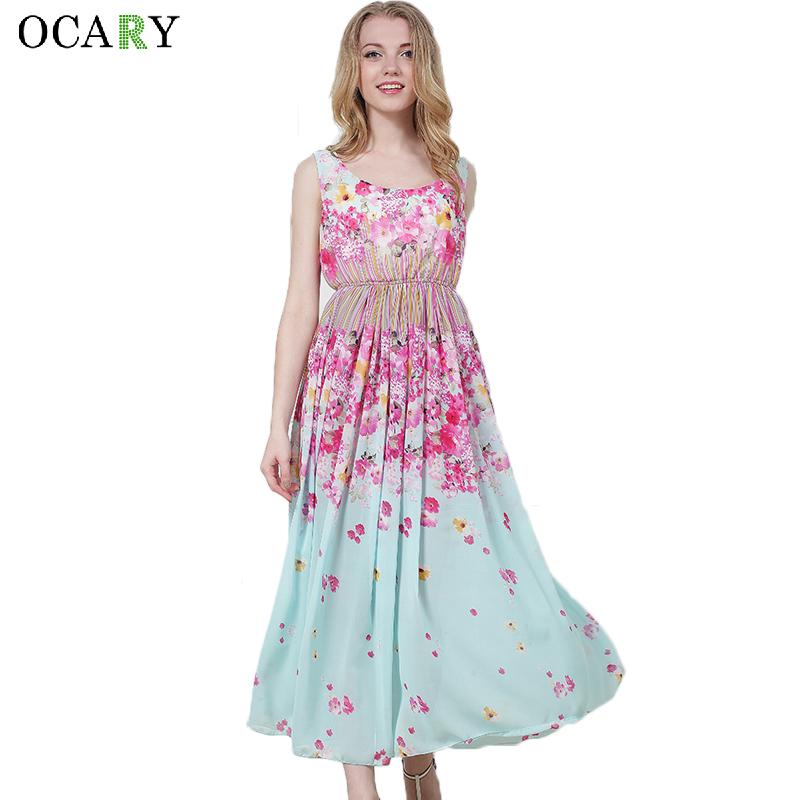 Vestidos flores aliexpress