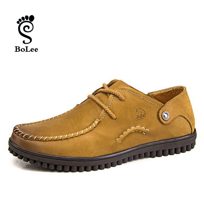 Camel Brand Full leather men Loafers men Flats shoes,  comfortable men Casual driving shoes<br><br>Aliexpress