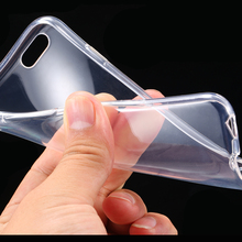 0 69 pcs 0 3mm Super Flexible Clear Case For Iphone 6 6s Crystal Simple