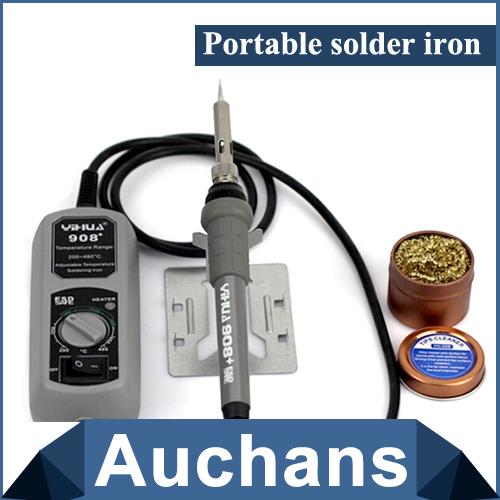 220v yihua 908 portable solder iron station adjustable 200 480celsius high quality soldering. Black Bedroom Furniture Sets. Home Design Ideas