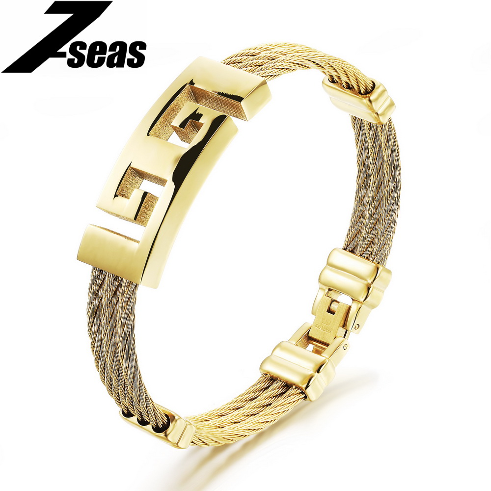 Luxury Gold Plated Stainless Steel Braided Rope Wristband Mens Anchor Bracelet Communion Gifts pulseira masculina,JM760(China (Mainland))