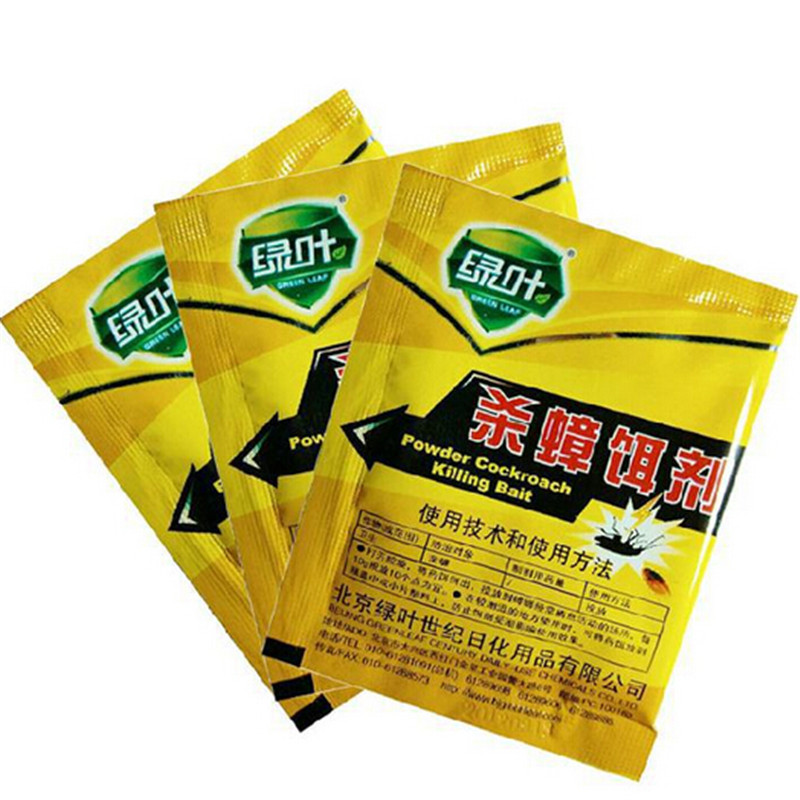 New free shipping 10 bagsVery medicine very clear cockroach killer german cockroach 5g(China (Mainland))