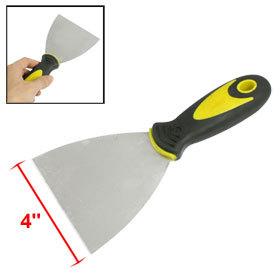 2Pcs 4 Width Nonslip Handle Carbon Steel Putty Trowel Scraper Spatula Tool<br><br>Aliexpress
