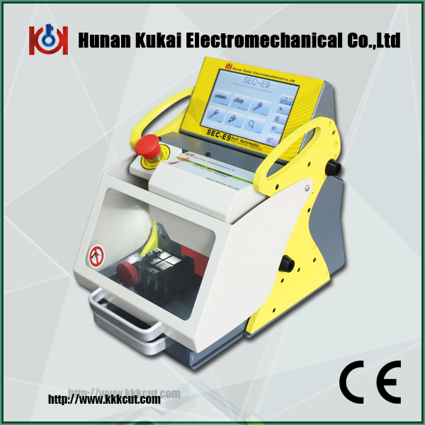 Cheapest price SEC-E9 portable Automatic modern car duplicate Key code Cutting Machine, key copy machine(China (Mainland))