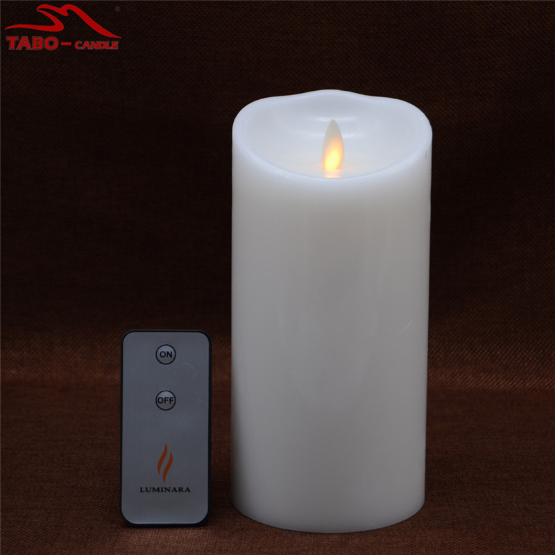 LED Electronic Flameless Candle Lights Flame Flashing Luminara Battery Operated Candle Lamps for Household Decoration In 7 Inch(China (Mainland))