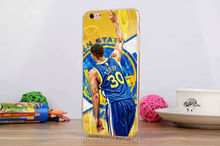 1pcs Stephen Curry 30 Design hard Transparent Clear Skin Case for iphone6 (4.7inch) and iphone6 plus(5.5inch)