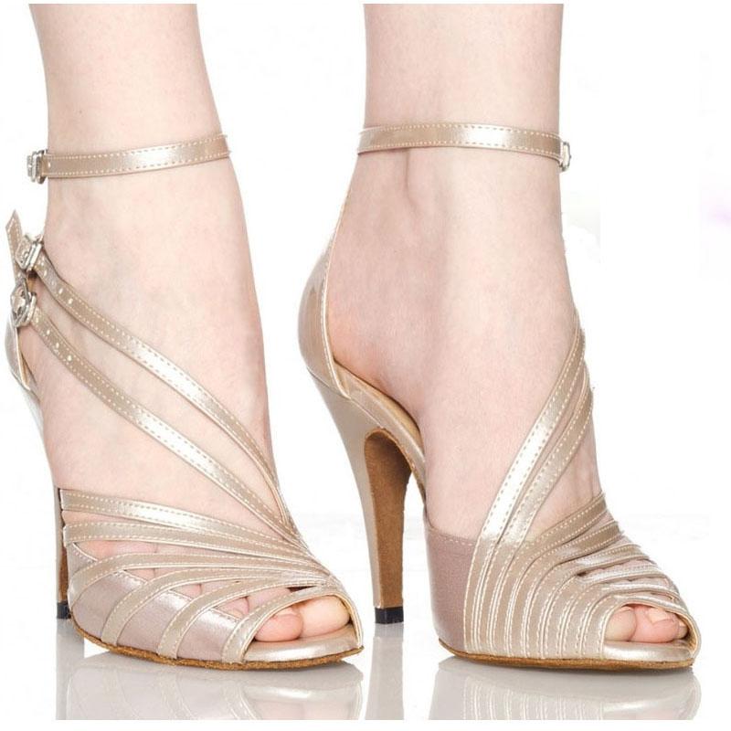 Brand 100% New Latin Dance Shoes Women's Adult Female Heeled High 6CM Ballroom Dancing BEIBEI LD9999 - Ali Nancy product Co.,Ltd store