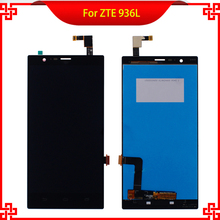 10PC/Lot 100% Tested LCD Display Touch Screen For ZTE 936L Lever LTE Z936L High Quality Mobile Phone LCDs Free Shipping