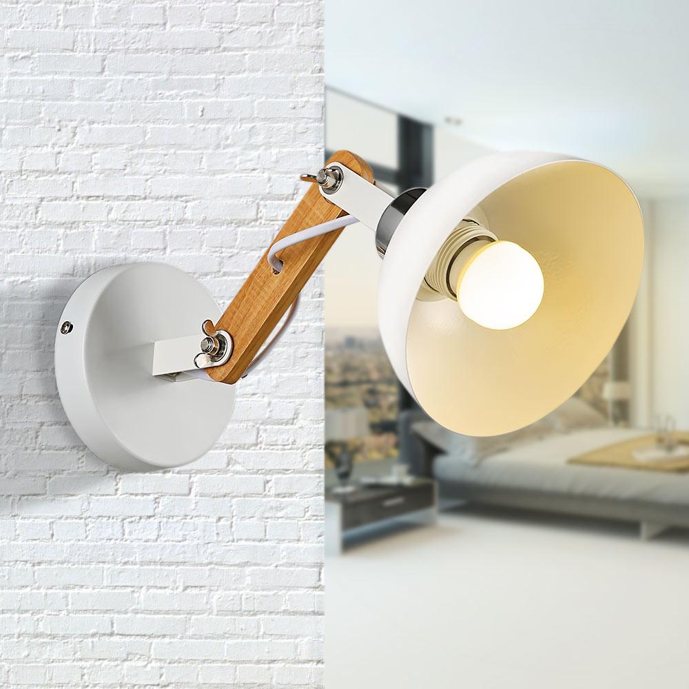 Modern Wall Lamps Sconces Living Room Wooden Restaurant Bedroom Decorative Wa
