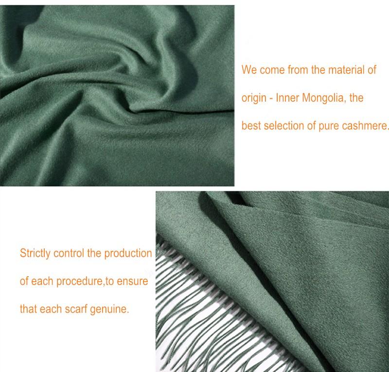 Fashion Autumn Winter Brand Cashmere scarf wool Pashmina  Pastel cashmere shawl Warm Shawl Women Soft Scarves Free Shipping