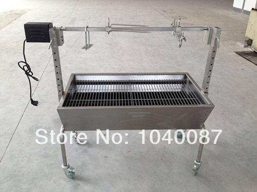 automatic charcoal BBQ ,motor BBQ,charcoal bbq barbecue grill,roasted pig,sheep etc(China (Mainland))