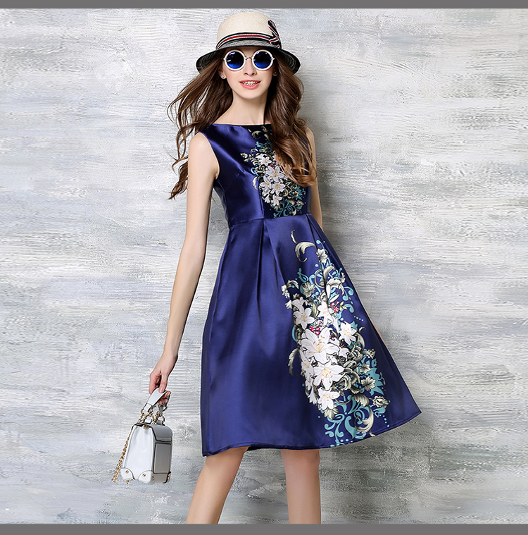 2016 the new spring clothing female long restores ancient ways dress in fashion dress(China (Mainland))