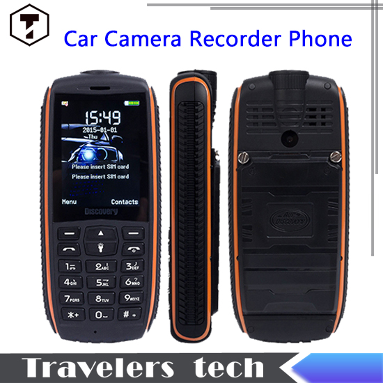 2015 Original Discovery A13 3W LED Powerful Torch phone Car camera recorder power band mobile phone 3000mah 2.4inch TFT screen(China (Mainland))