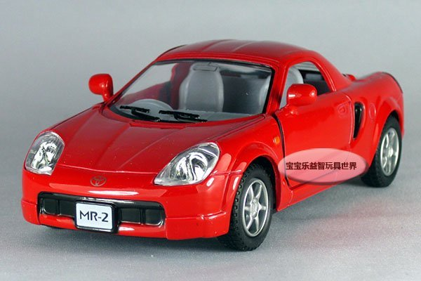 Free shipping-- 1: 32 Toyota MR2/ alloy model car / toy gift Christmas gift car electronics