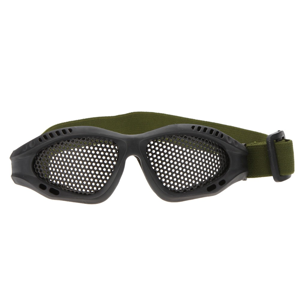 Tactical Hunting Airsoft Eyes Anti-fog Protection Metal Mesh Glasses Goggle<br><br>Aliexpress