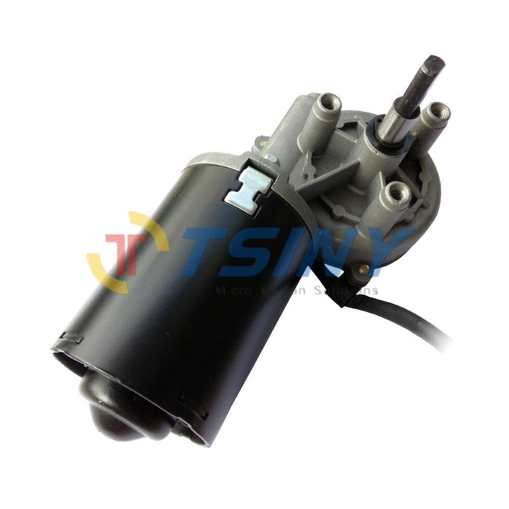 12 24vdc garage door motor low speed high torque 30w worm for High torque high speed dc motor
