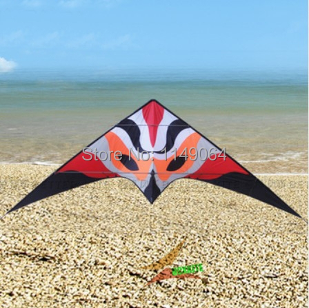 free shipping high quality 3.3m firefox dual line stunt kite surf with handle line weifang kite outdoor toys albatross red fox(China (Mainland))