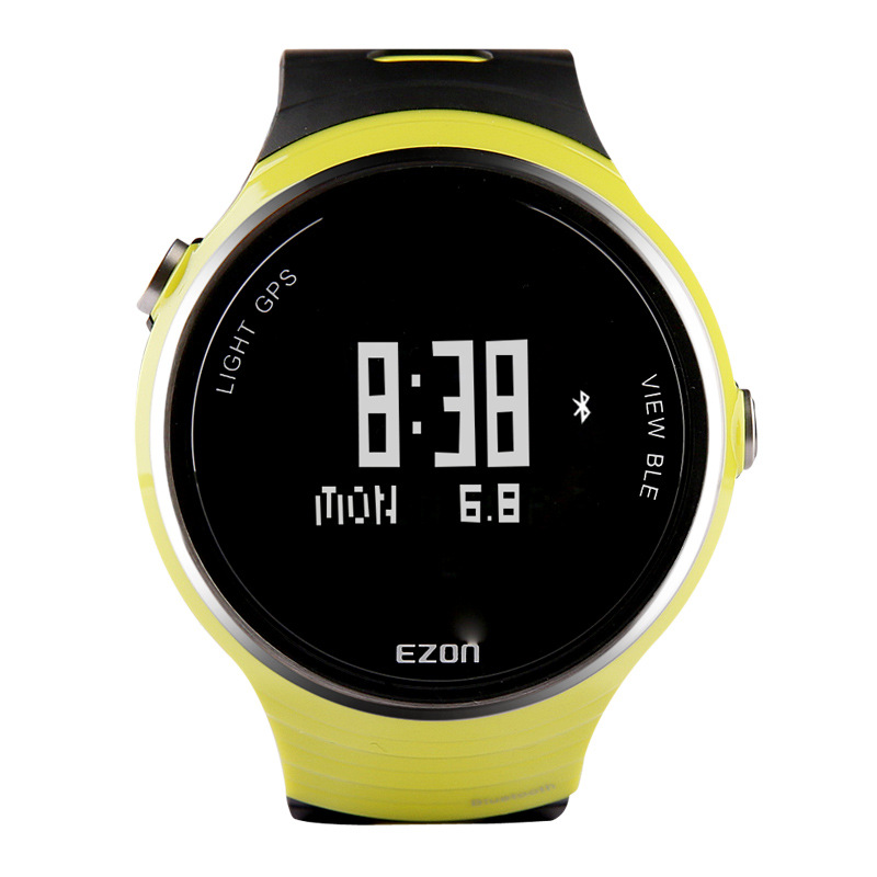 EZON sports outdoor table intelligent wearable device Bluetooth GPS positioning waterproof men's watch 5 ATM jogging table G1(China (Mainland))