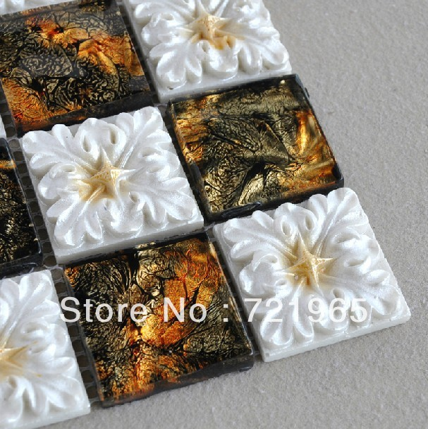 Ceramic tile for wall mirror tile backsplash decorative ceramic floor tiles free shipping CCMT001 discount ceramic mosaic tile<br><br>Aliexpress