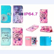 Case For Apple iPhone6 6S Luxury Wallet Stand Flip Leather Back Cute Accessories Cover For iphone 6 4.7